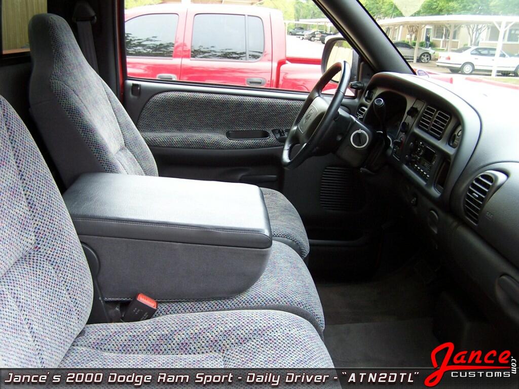 "Customize My Truck >> Jance Customs - 2000 Dodge Ram Sport - ""ATN2DTL"" - The Beginning"